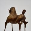 Poetic Horses. 50 cms. Bronze