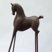 Poetic Horses. 68 cms. Bronze